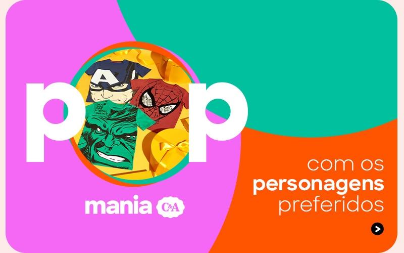 Pop Mania com seus personagens favoritos