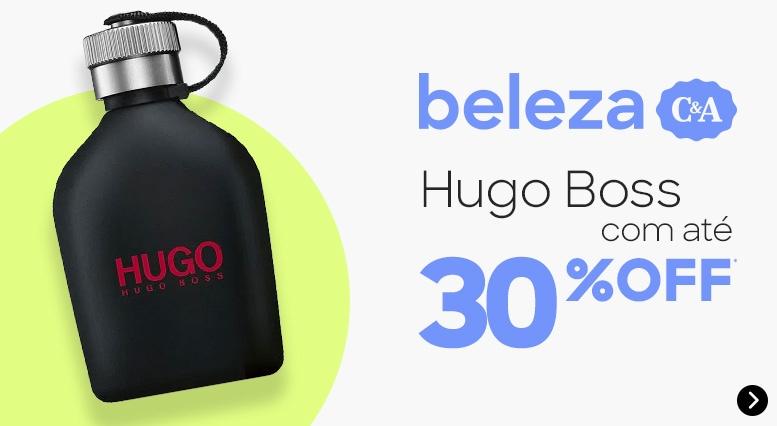 beleza: Hugo Boss com até 30%OFF*