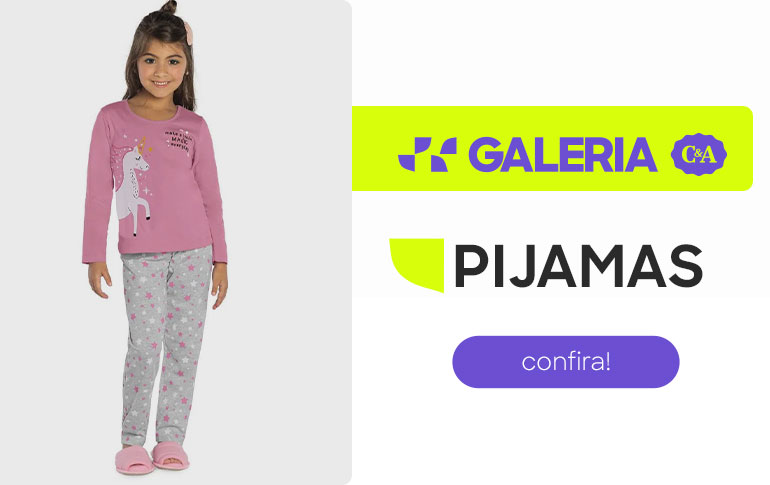 GALERIA C&A: pijamas