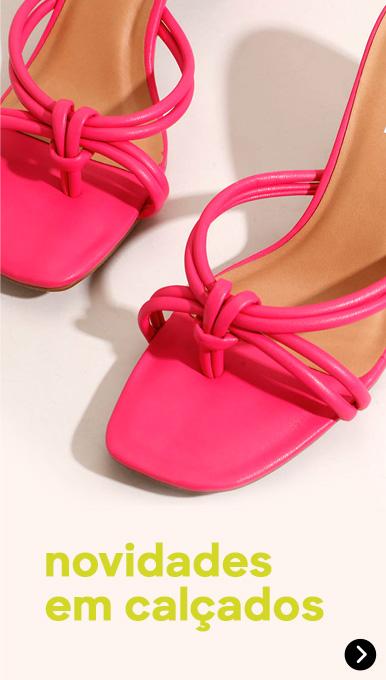 Novidades em calçados